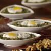 Каша от коприва с яйца и орехи