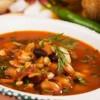 Бобена супа с гъби и мариновани краставички