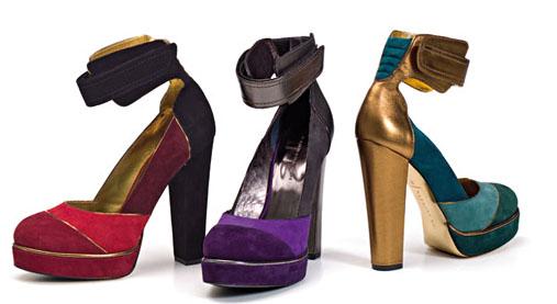 0 - Обувки от материи в различни цветове