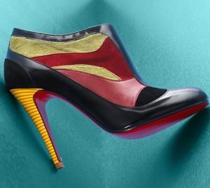 2christian louboutin 300x269 - Обувки от материи в различни цветове