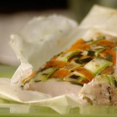 pileshko file s zelenchuci - Пилешко филе със зеленчуци