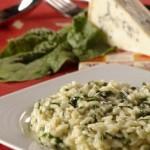risotospanak 150x150 - Ризото със спанак и синьо сирене