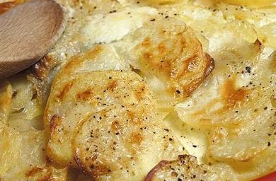 Лионски огретен (френска рецепта)