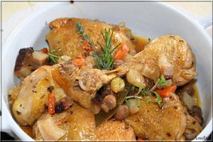 poulet cocotte - Poulet-cocotte (френска рецепта)