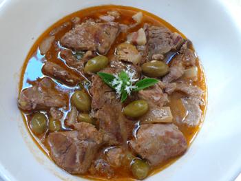 veau aux olives - Телешко с маслини (френска рецепта)