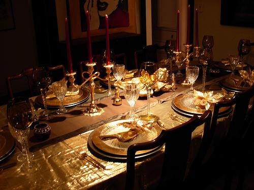 18 - Празнична подредба на масата