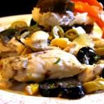 poulet olives 150x150 - Пилешко с маслини (френска рецепта)