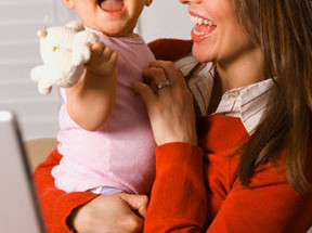 14 288x215 - Бизнес-мама: с бебе и лаптоп