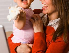 14 288x220 - Бизнес-мама: с бебе и лаптоп