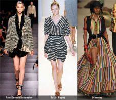 Пролет-лято 2009: Тенденции в десените