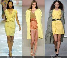 Пролет-лято 2009: Тенденции в цветовете