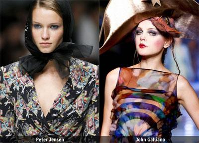 9sinio - Пролет-лято 2009: Грим - тенденции в цветовете