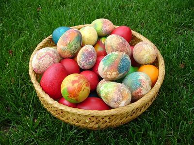 12 - 4 техники за боядисването на красиви великденски яйца
