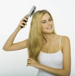 13 - За да е косата ви блестяща като коприна...