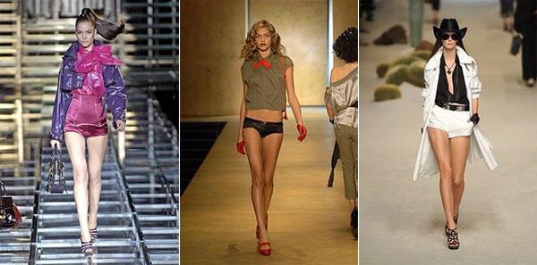 1kp - Късите панталонки - хит на сезон лято-2009