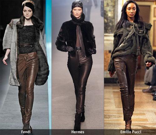 1 05 - Какви кожени панталони да изберете тази есен