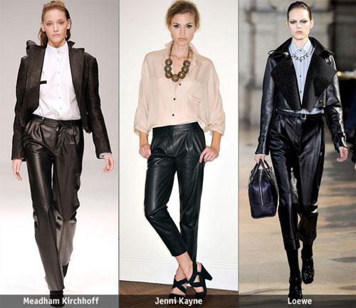 3 021 - Какви кожени панталони да изберете тази есен