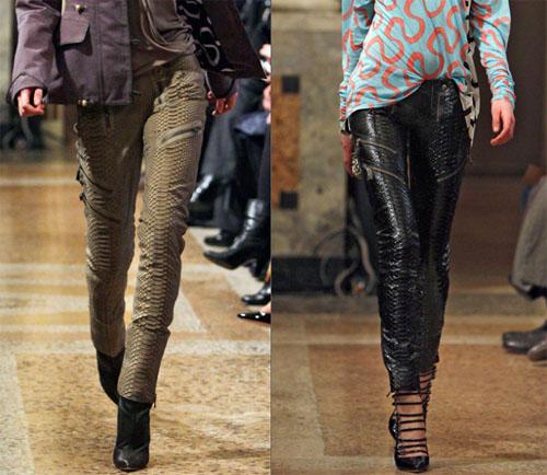 4 011 - Какви кожени панталони да изберете тази есен