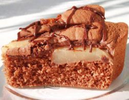 Шоколадов сладкиш с круши
