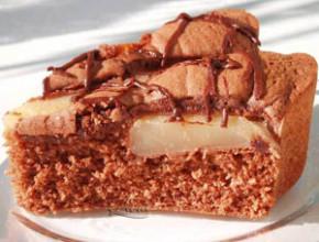 sladkish s krushi 290x220 - Шоколадов сладкиш с круши