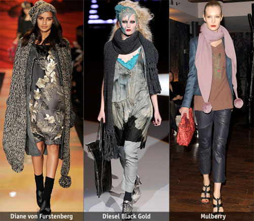 4 - Есен-зима 2009/2010: Дълъг шал