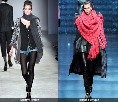 5 - Есен-зима 2009/2010: Дълъг шал