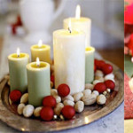 1ks 150x150 - Идеи за коледна украса със свещи