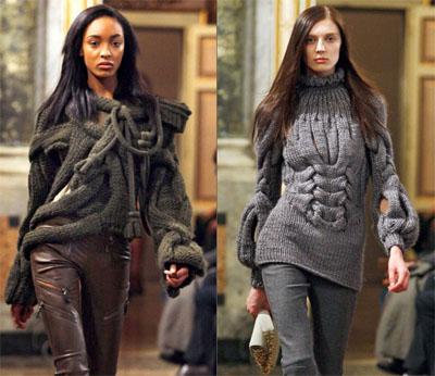 2 3Emilio Pucci - Eсен-зима 2009/10: Плетиво