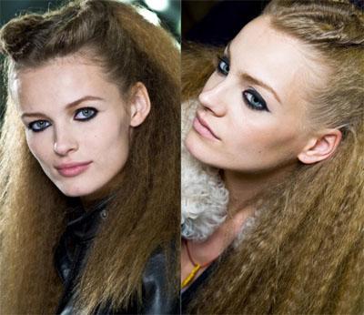 3Karl Lagerfeld - Грим есен-зима 2009/10: Очи
