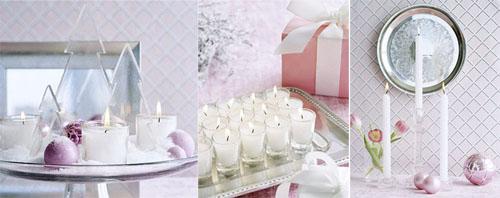 3ks - Идеи за коледна украса със свещи