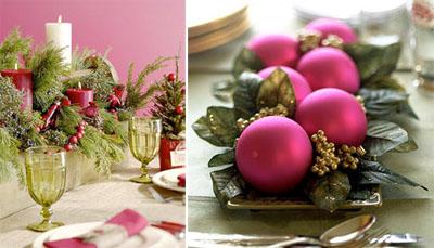 4um - Коледна украса на масата