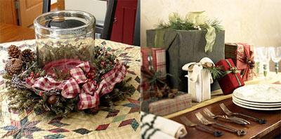 5um - Коледна украса на масата