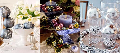 6um - Коледна украса на масата