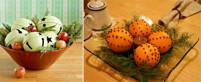 7um - Коледна украса на масата