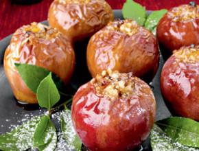 iabalki s bademi 290x220 - Печени ябълки с мед и бадеми