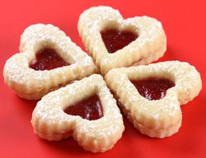 Sarca marmalad - Сърца с пълнеж от мармалад