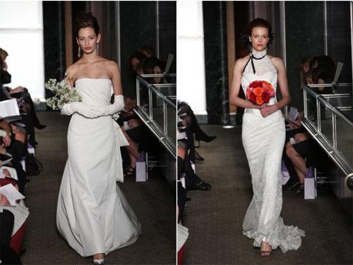 1 3Carolina Herrera - Пролет-лято 2010: Булчински рокли