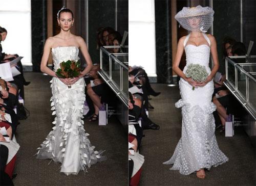 1 4Carolina Herrera - Пролет-лято 2010: Булчински рокли