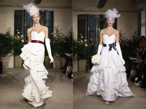 2 1Oscar de la Renta - Пролет-лято 2010: Булчински рокли