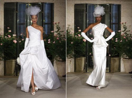 2 2Oscar de la Renta - Пролет-лято 2010: Булчински рокли