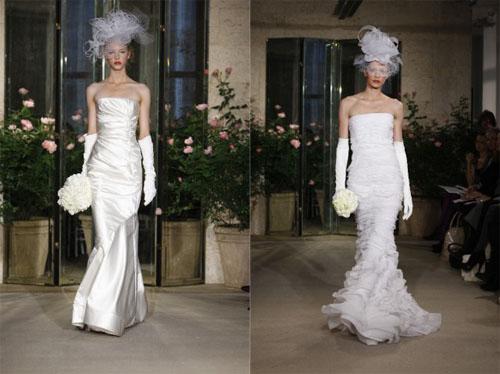 2 3Oscar de la Renta - Пролет-лято 2010: Булчински рокли