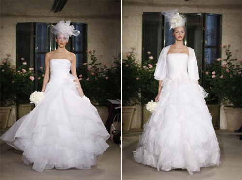 2 4Oscar de la Renta - Пролет-лято 2010: Булчински рокли