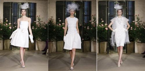 2 6Oscar de la Renta 500x247 - Пролет-лято 2010: Булчински рокли