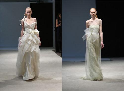 3 4Vera Wang - Пролет-лято 2010: Булчински рокли