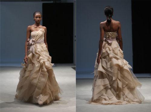 3 5Vera Wang - Пролет-лято 2010: Булчински рокли