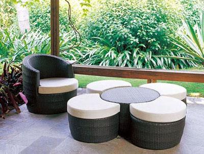 01m - Градински мебели от изкуствен ратан