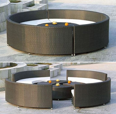 02m - Градински мебели от изкуствен ратан