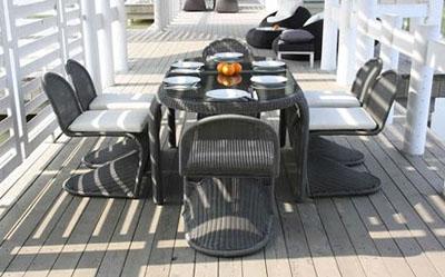 04m - Градински мебели от изкуствен ратан