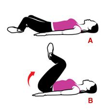 4upr - 15-минутен комплекс упражнения за стегнат корем