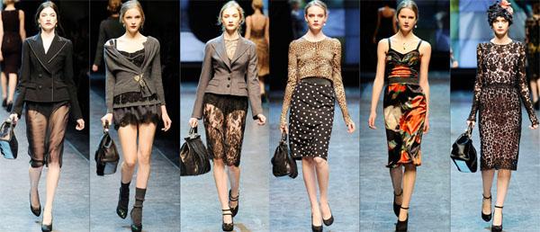 5Dolce Gabbana - Есен-зима 2010/2011: Топ-10 колекции за сезона според Style.com